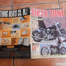 Coches y Motocicletas: BIKER ZONE Nº 108, CUSTOM BIKE & STREETFIGHTER MAGAZINE. Lote 205662966