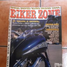 Coches y Motocicletas: BIKER ZONE Nº 73, CUSTOM BIKE & STREETFIGHTER MAGAZINE. Lote 205663127