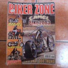 Coches y Motocicletas: BIKER ZONE Nº 118, CUSTOM BIKE & STREETFIGHTER MAGAZINE. Lote 205665318