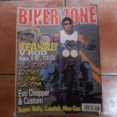 Coches y Motocicletas: BIKER ZONE Nº 97, CUSTOM BIKE & STREETFIGHTER MAGAZINE. Lote 205665531