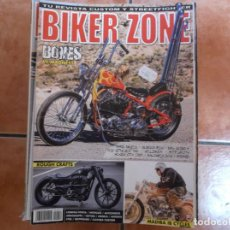 Coches y Motocicletas: BIKER ZONE Nº 250, CUSTOM BIKE & STREETFIGHTER MAGAZINE, 2014. Lote 205666015