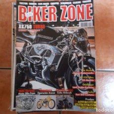 Coches y Motocicletas: BIKER ZONE Nº 272, CUSTOM BIKE & STREETFIGHTER MAGAZINE, 2016. Lote 205666137