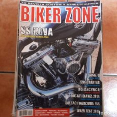 Coches y Motocicletas: BIKER ZONE Nº 252, CUSTOM BIKE & STREETFIGHTER MAGAZINE, 2014. Lote 205666250