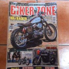 Coches y Motocicletas: BIKER ZONE Nº 268, CUSTOM BIKE & STREETFIGHTER MAGAZINE, 2015. Lote 205666375