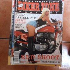 Coches y Motocicletas: BIKER ZONE Nº 27, BIKE & STREETFIGHTER MAGAZINE,. Lote 205667408