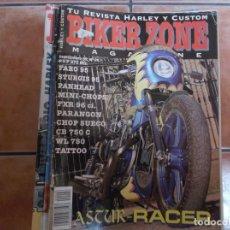 Coches y Motocicletas: BIKER ZONE Nº 26, BIKE & STREETFIGHTER MAGAZINE,. Lote 205667600