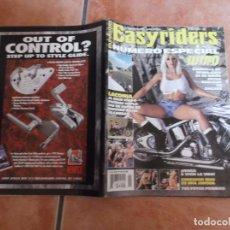 Coches y Motocicletas: EASY RIDERS Nº 85, EDICION ESPAÑOLA ,NUMERO ESPECIAL 1998, CON POSTER. Lote 205670765