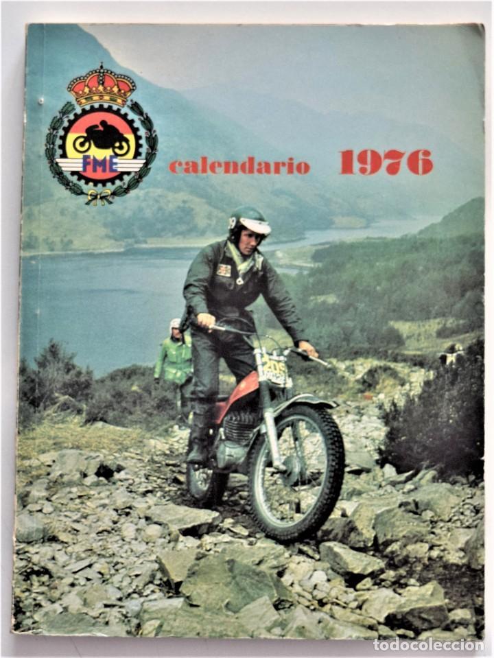 Coches y Motocicletas: LOTE 6 CALENDARIO REAL FEDERACIÓN MOTOCICLISTA ESPAÑOLA AÑOS 1976, 1977, 1978, 1979, 1986 Y 1987 - Foto 3 - 205712243