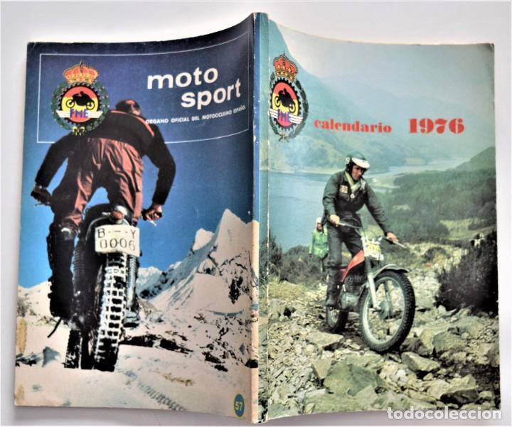 Coches y Motocicletas: LOTE 6 CALENDARIO REAL FEDERACIÓN MOTOCICLISTA ESPAÑOLA AÑOS 1976, 1977, 1978, 1979, 1986 Y 1987 - Foto 4 - 205712243