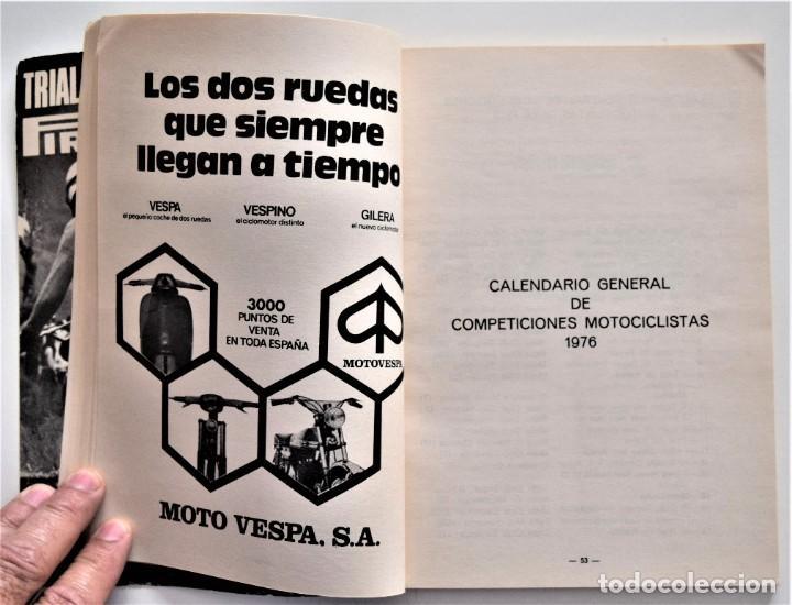 Coches y Motocicletas: LOTE 6 CALENDARIO REAL FEDERACIÓN MOTOCICLISTA ESPAÑOLA AÑOS 1976, 1977, 1978, 1979, 1986 Y 1987 - Foto 9 - 205712243