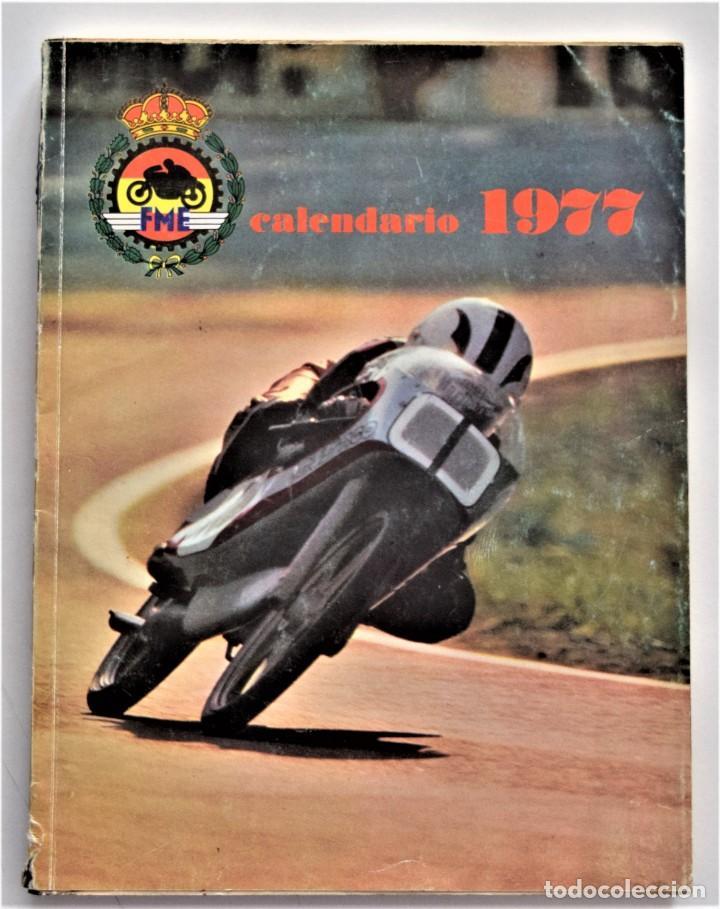Coches y Motocicletas: LOTE 6 CALENDARIO REAL FEDERACIÓN MOTOCICLISTA ESPAÑOLA AÑOS 1976, 1977, 1978, 1979, 1986 Y 1987 - Foto 10 - 205712243