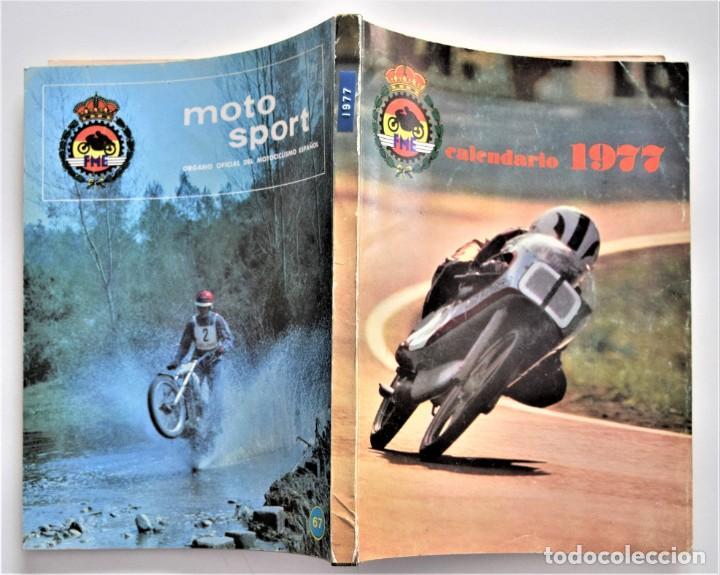 Coches y Motocicletas: LOTE 6 CALENDARIO REAL FEDERACIÓN MOTOCICLISTA ESPAÑOLA AÑOS 1976, 1977, 1978, 1979, 1986 Y 1987 - Foto 11 - 205712243