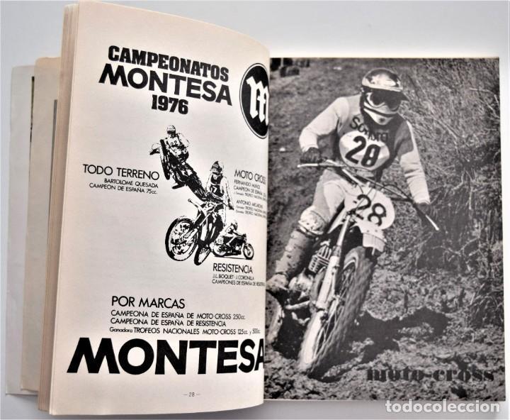 Coches y Motocicletas: LOTE 6 CALENDARIO REAL FEDERACIÓN MOTOCICLISTA ESPAÑOLA AÑOS 1976, 1977, 1978, 1979, 1986 Y 1987 - Foto 14 - 205712243