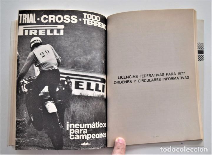 Coches y Motocicletas: LOTE 6 CALENDARIO REAL FEDERACIÓN MOTOCICLISTA ESPAÑOLA AÑOS 1976, 1977, 1978, 1979, 1986 Y 1987 - Foto 17 - 205712243