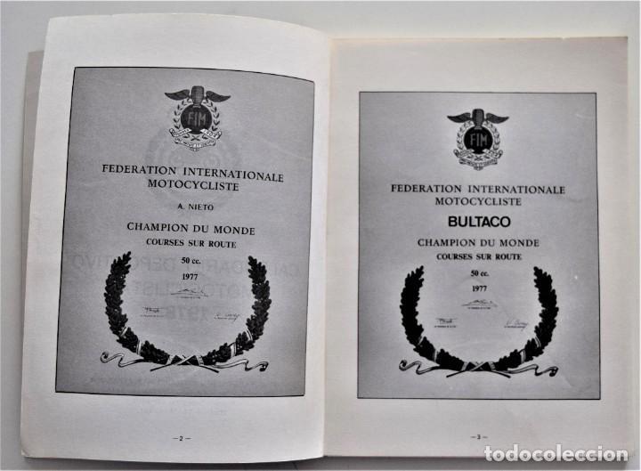 Coches y Motocicletas: LOTE 6 CALENDARIO REAL FEDERACIÓN MOTOCICLISTA ESPAÑOLA AÑOS 1976, 1977, 1978, 1979, 1986 Y 1987 - Foto 21 - 205712243
