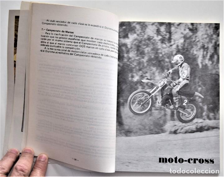 Coches y Motocicletas: LOTE 6 CALENDARIO REAL FEDERACIÓN MOTOCICLISTA ESPAÑOLA AÑOS 1976, 1977, 1978, 1979, 1986 Y 1987 - Foto 22 - 205712243