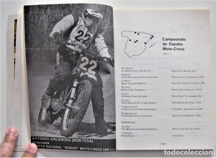 Coches y Motocicletas: LOTE 6 CALENDARIO REAL FEDERACIÓN MOTOCICLISTA ESPAÑOLA AÑOS 1976, 1977, 1978, 1979, 1986 Y 1987 - Foto 23 - 205712243