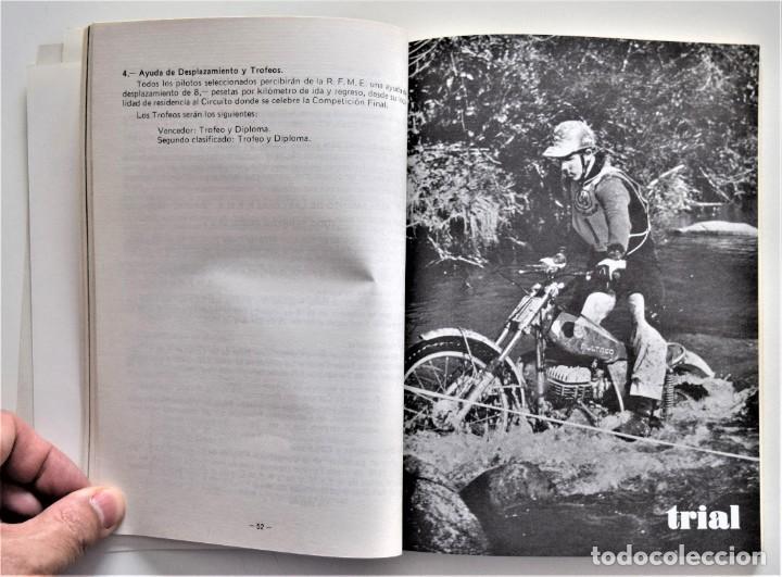 Coches y Motocicletas: LOTE 6 CALENDARIO REAL FEDERACIÓN MOTOCICLISTA ESPAÑOLA AÑOS 1976, 1977, 1978, 1979, 1986 Y 1987 - Foto 24 - 205712243