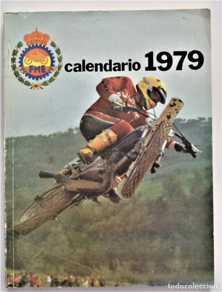 Coches y Motocicletas: LOTE 6 CALENDARIO REAL FEDERACIÓN MOTOCICLISTA ESPAÑOLA AÑOS 1976, 1977, 1978, 1979, 1986 Y 1987 - Foto 27 - 205712243