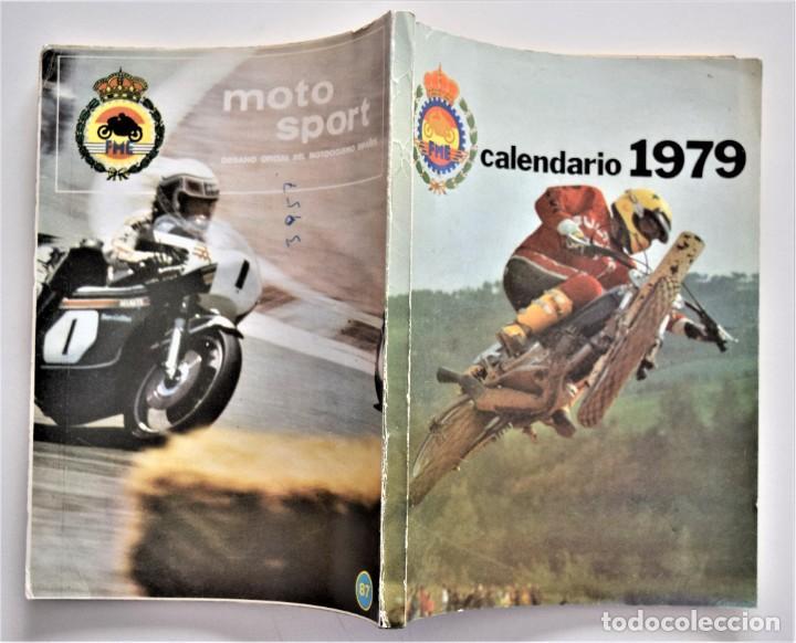 Coches y Motocicletas: LOTE 6 CALENDARIO REAL FEDERACIÓN MOTOCICLISTA ESPAÑOLA AÑOS 1976, 1977, 1978, 1979, 1986 Y 1987 - Foto 28 - 205712243