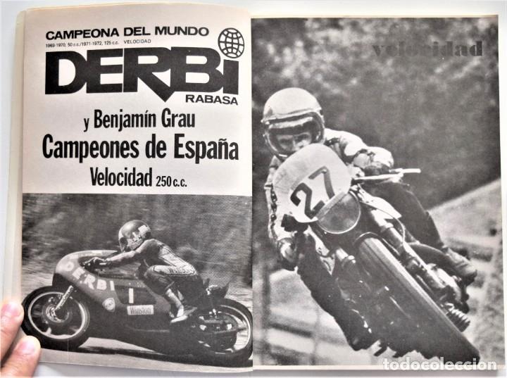 Coches y Motocicletas: LOTE 6 CALENDARIO REAL FEDERACIÓN MOTOCICLISTA ESPAÑOLA AÑOS 1976, 1977, 1978, 1979, 1986 Y 1987 - Foto 31 - 205712243