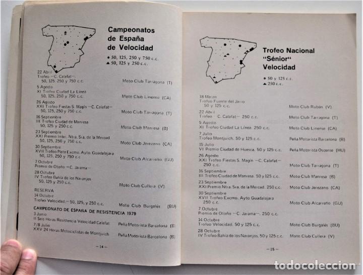 Coches y Motocicletas: LOTE 6 CALENDARIO REAL FEDERACIÓN MOTOCICLISTA ESPAÑOLA AÑOS 1976, 1977, 1978, 1979, 1986 Y 1987 - Foto 32 - 205712243