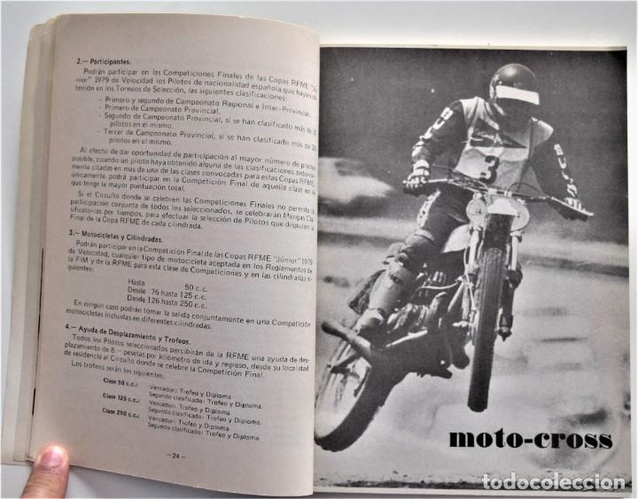 Coches y Motocicletas: LOTE 6 CALENDARIO REAL FEDERACIÓN MOTOCICLISTA ESPAÑOLA AÑOS 1976, 1977, 1978, 1979, 1986 Y 1987 - Foto 33 - 205712243