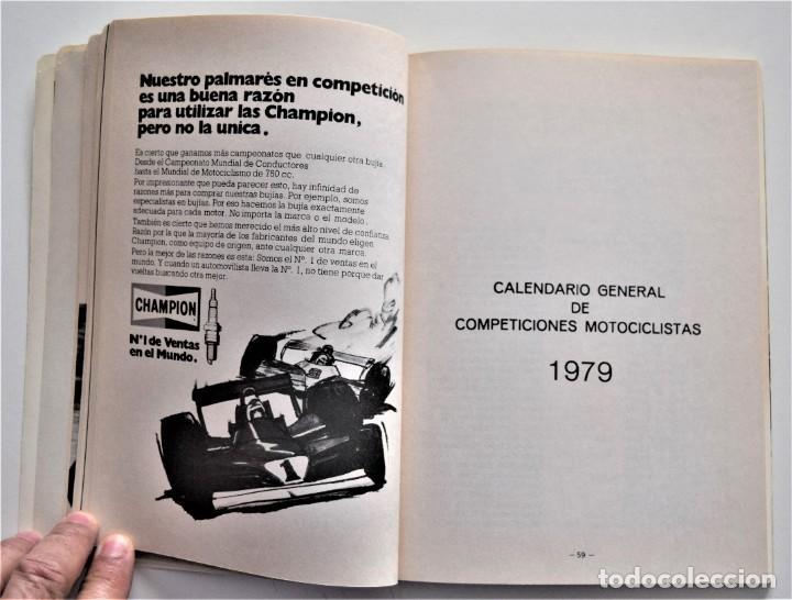 Coches y Motocicletas: LOTE 6 CALENDARIO REAL FEDERACIÓN MOTOCICLISTA ESPAÑOLA AÑOS 1976, 1977, 1978, 1979, 1986 Y 1987 - Foto 34 - 205712243