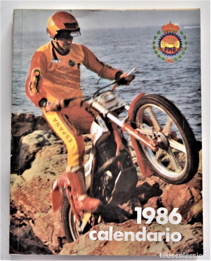 Coches y Motocicletas: LOTE 6 CALENDARIO REAL FEDERACIÓN MOTOCICLISTA ESPAÑOLA AÑOS 1976, 1977, 1978, 1979, 1986 Y 1987 - Foto 35 - 205712243