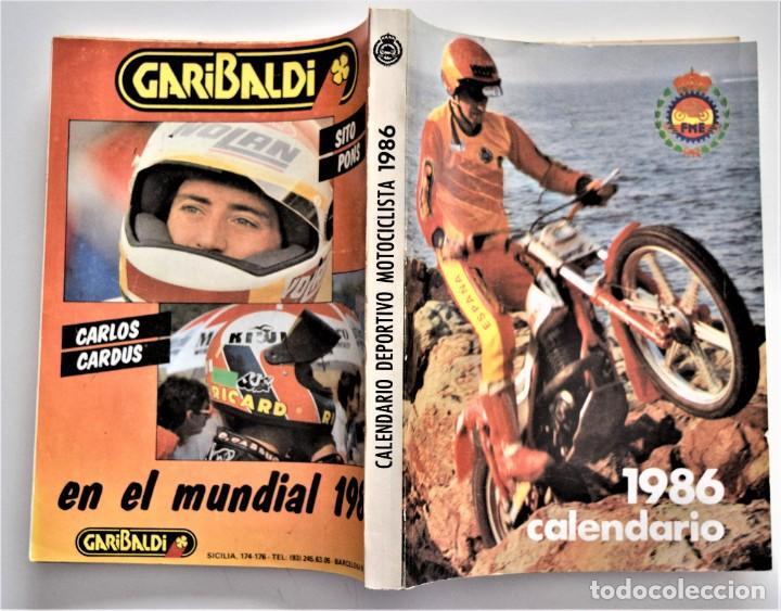 Coches y Motocicletas: LOTE 6 CALENDARIO REAL FEDERACIÓN MOTOCICLISTA ESPAÑOLA AÑOS 1976, 1977, 1978, 1979, 1986 Y 1987 - Foto 36 - 205712243