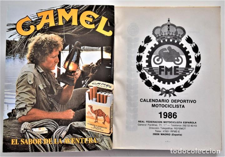 Coches y Motocicletas: LOTE 6 CALENDARIO REAL FEDERACIÓN MOTOCICLISTA ESPAÑOLA AÑOS 1976, 1977, 1978, 1979, 1986 Y 1987 - Foto 37 - 205712243