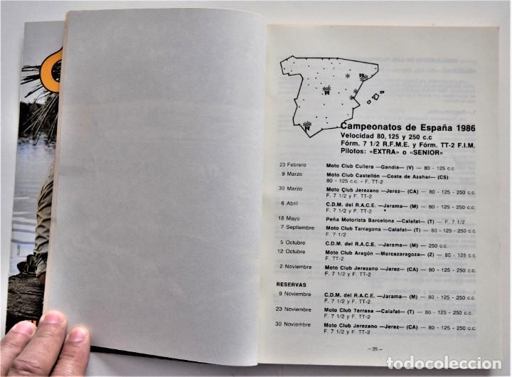 Coches y Motocicletas: LOTE 6 CALENDARIO REAL FEDERACIÓN MOTOCICLISTA ESPAÑOLA AÑOS 1976, 1977, 1978, 1979, 1986 Y 1987 - Foto 39 - 205712243