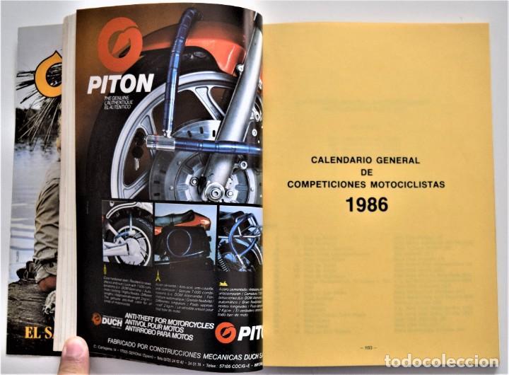 Coches y Motocicletas: LOTE 6 CALENDARIO REAL FEDERACIÓN MOTOCICLISTA ESPAÑOLA AÑOS 1976, 1977, 1978, 1979, 1986 Y 1987 - Foto 41 - 205712243