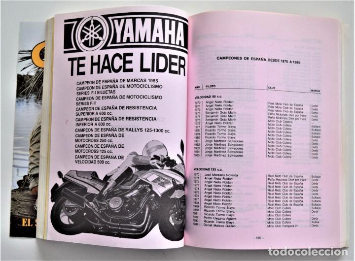 Coches y Motocicletas: LOTE 6 CALENDARIO REAL FEDERACIÓN MOTOCICLISTA ESPAÑOLA AÑOS 1976, 1977, 1978, 1979, 1986 Y 1987 - Foto 42 - 205712243