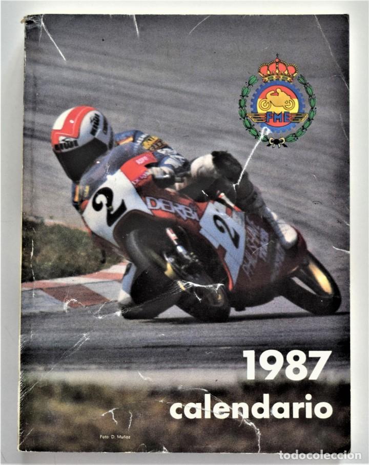 Coches y Motocicletas: LOTE 6 CALENDARIO REAL FEDERACIÓN MOTOCICLISTA ESPAÑOLA AÑOS 1976, 1977, 1978, 1979, 1986 Y 1987 - Foto 45 - 205712243