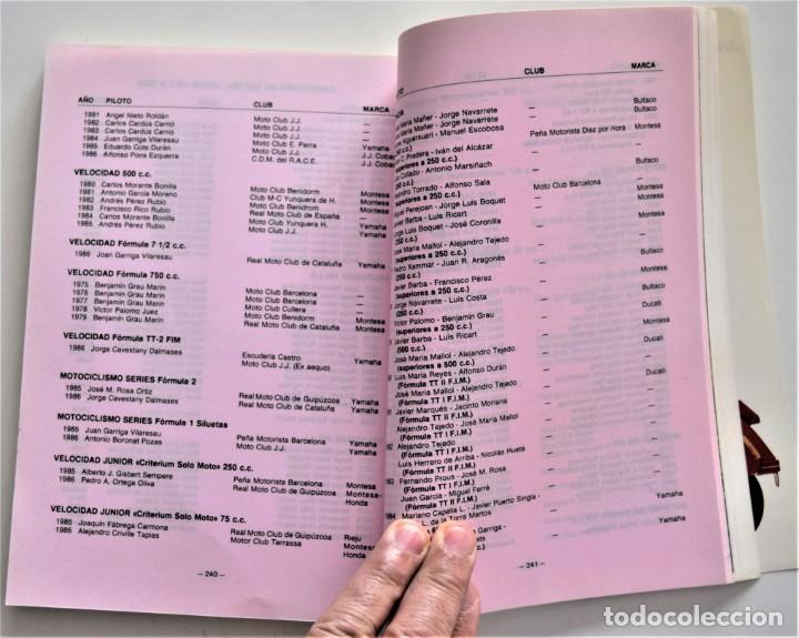 Coches y Motocicletas: LOTE 6 CALENDARIO REAL FEDERACIÓN MOTOCICLISTA ESPAÑOLA AÑOS 1976, 1977, 1978, 1979, 1986 Y 1987 - Foto 55 - 205712243