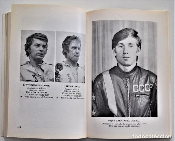 Coches y Motocicletas: ANUARIO DE LA FEDERACIÓN INTERNACIONAL DE MOTOCICLISMO AÑO 1976 - ÁNGEL NIETO - LOS CIRCUITOS - Foto 4 - 205713403