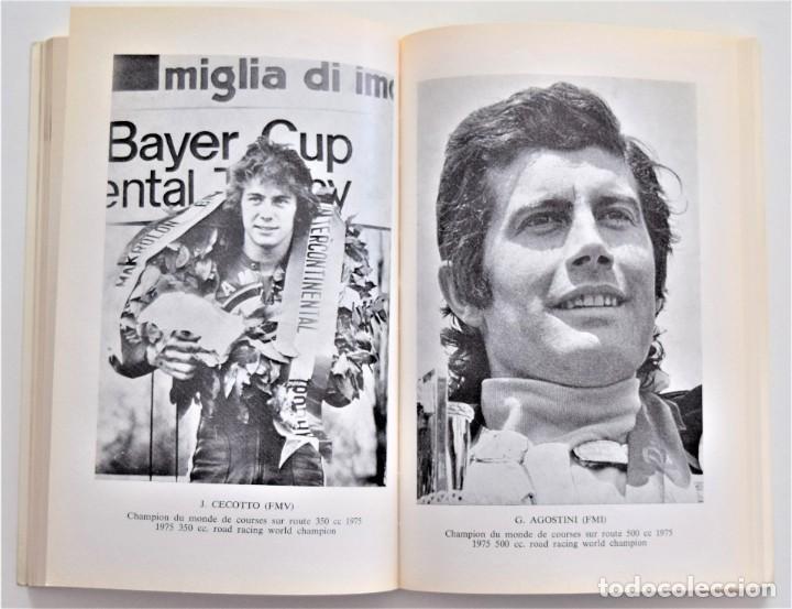 Coches y Motocicletas: ANUARIO DE LA FEDERACIÓN INTERNACIONAL DE MOTOCICLISMO AÑO 1976 - ÁNGEL NIETO - LOS CIRCUITOS - Foto 5 - 205713403