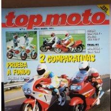 Coches y Motocicletas: REVISTA TOP MOTO 1991. Lote 205757796