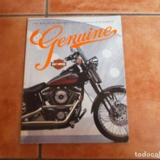 Coches y Motocicletas: CATALOGO 1995 HARLEY DAVIDSON GENUINE PARTS & ACCESSORIES,EN INGLES ,204 PAGINAS ,TODO FOTOS. Lote 206214052