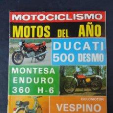 Coches y Motocicletas: REVISTA MOTOCICLISMO. Nº 595. 28 ENERO 1979.. Lote 206390357