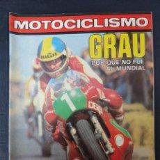 Coches y Motocicletas: REVISTA MOTOCICLISMO. Nº 597. 11 FEBRERO 1979.. Lote 206392722