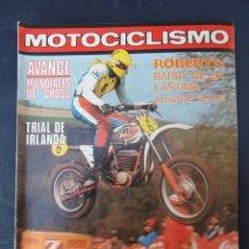 Coches y Motocicletas: REVISTA MOTOCICLISMO. Nº 598. 18 FEBRERO 1979.. Lote 206393582