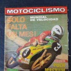 Coches y Motocicletas: REVISTA MOTOCICLISMO. Nº 599. 25 FEBRERO 1979.. Lote 206394065