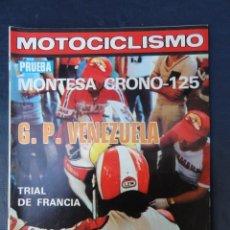 Coches y Motocicletas: REVISTA MOTOCICLISMO. Nº 603. 25 MARZO 1979.. Lote 206394640