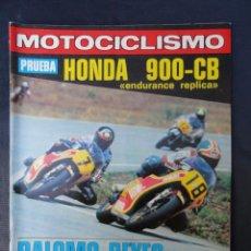 Coches y Motocicletas: REVISTA MOTOCICLISMO. Nº 604. 31 MARZO 1979.. Lote 206394767