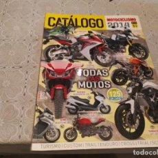 Coches y Motocicletas: CATALOGO MOTOCICLISMO 2014 N° 33 SUZUKI V-STROM, HONDA CBR 650F,DUCATI MONSTER, KTM 1290 SUPER DUKE. Lote 206584122