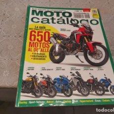 Coches y Motocicletas: MOTO CATALOGO 2016 - 2017 N° 16 EDICION COLECCIONISTA HONDA AFRICA, TRIUMPH STREET, BMW G 310 R.... Lote 206584701