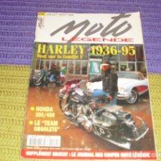 Coches y Motocicletas: MOTO LEGENDE Nº 49 - HARLEY DESDE 1936 - A 1995. Lote 206762542