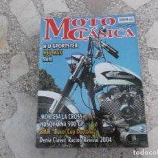 Coches y Motocicletas: MOTO CLASICA Nº 10, MONTESA LA CROSS, HUSQVARNA 500 GP, BMW BOXER CUP DAYTONA,NSU MAX ,H-D SPORTSTER. Lote 206968791
